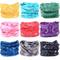 Wholesale Stretchable Multifunctional Printed Seamless Tube Head Wear Bandana