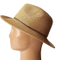 Summer Beach Sun Protection Fedora Nature Paper Straw Hat
