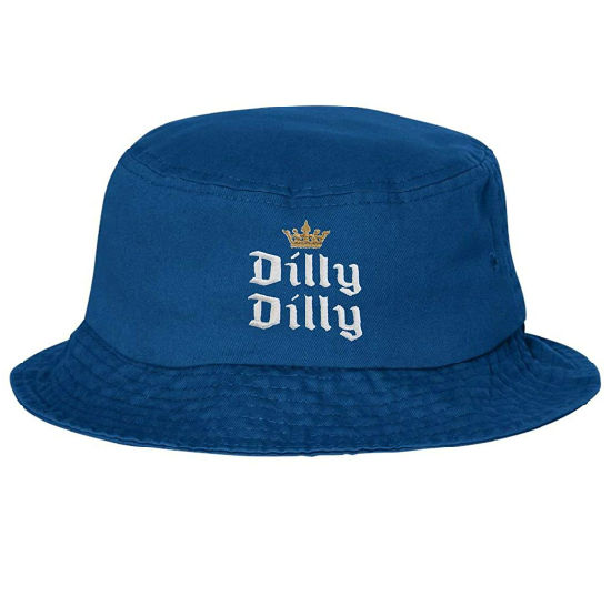 100% Cotton Promotional Flat Crown Embroidered Fashion Bucket Hat