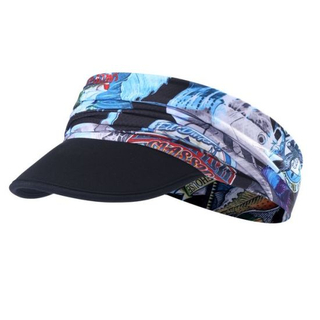Summer Foldable Sun Protect Soft Visor Cap Without Crown for Running Riding Outdoor Sports