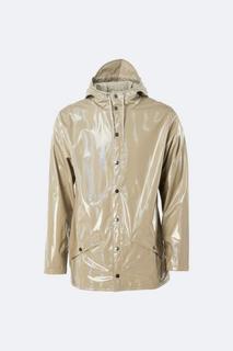 Casual Unisex Fit Holographic Jacket Fabric Column Pressure 4000 mm Raincoat