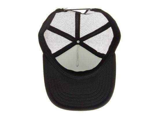 Wholesale 5-Panel 100% Polyester Custom Mesh Trucker Striped Hat for Man Women Sports